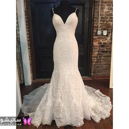 ساده ترین لباس عروس 99