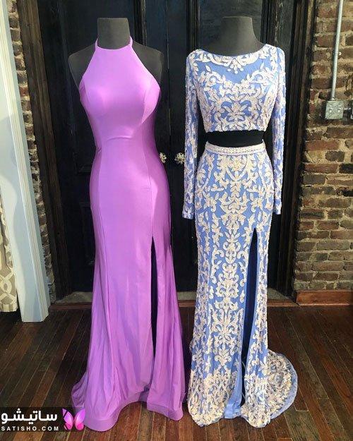 مدلهای لباس مجلسی بلند دخترانه