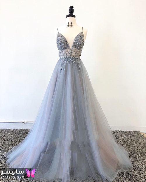 مدلهای لباس مجلسی دخترانه 99 بلند