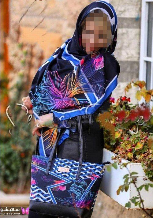 مدل های کیف و روسری زنانه برای عید 99