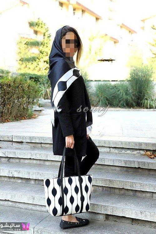مدل ست کیف و روسری لاکچری دخترانه