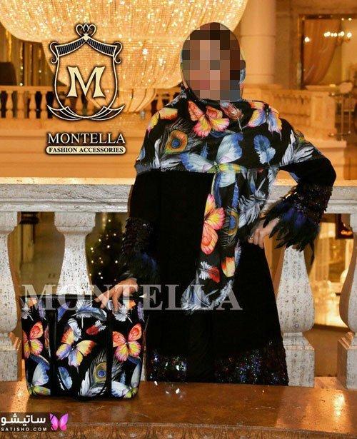 مدلهای شیک کیف و روسری ست