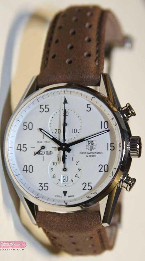 ساعت دست چرم مردانه