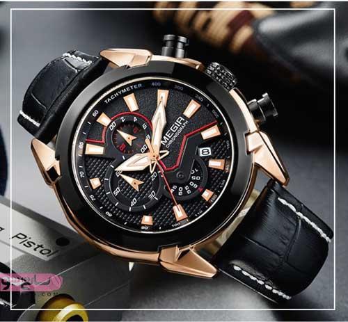 شیک ترین مدلهای ساعت مردانه مشکی