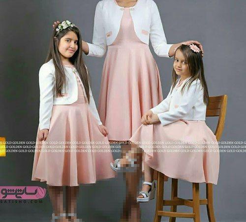عکسهای لباس مجلسی دخترانه و مادرانه