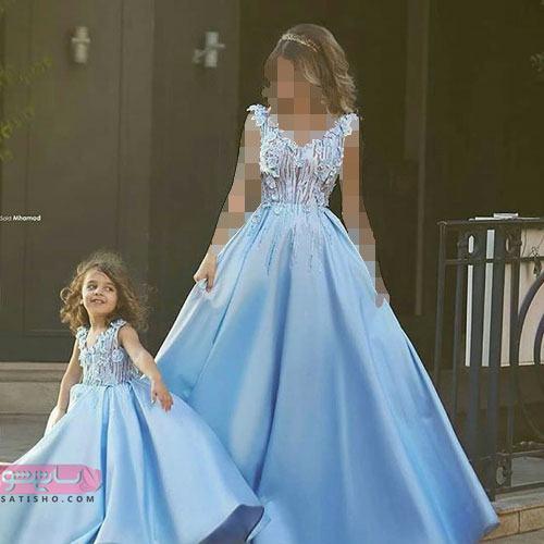 جدیدترین مدلهای ست مادر دختر جدید ۹۹ با طرح های باکلاس و شیک