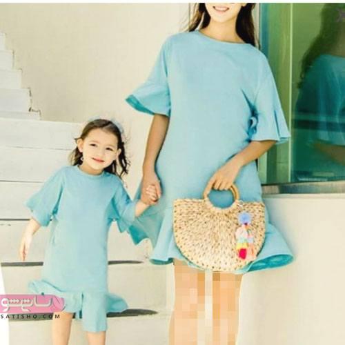 لباس ست مادر دختری لمه 2020