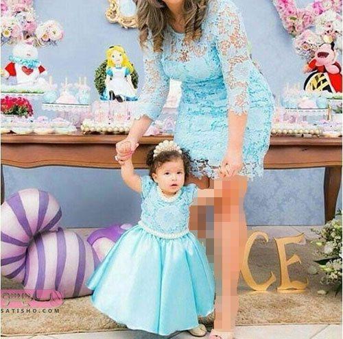 لباس ست مادر دختر