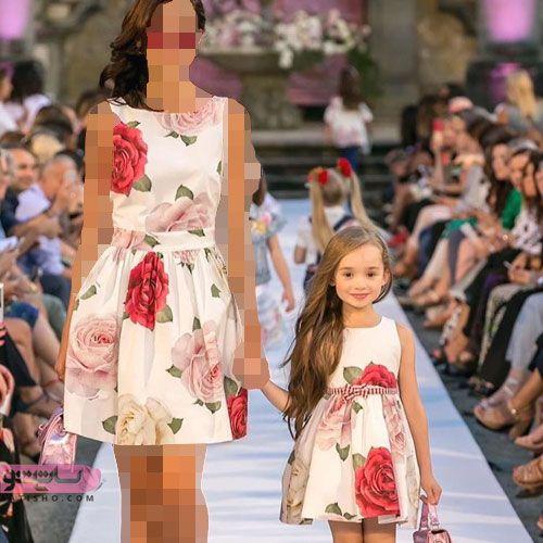 جدیدترین مدل لباس ست مادر دختری