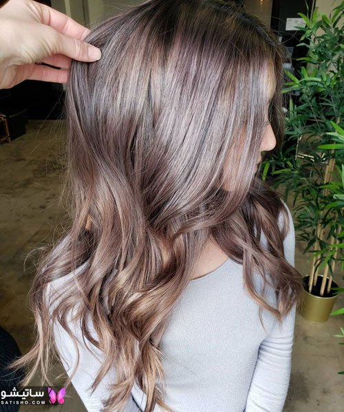 رنگ موی تیره برای پوست های روشن