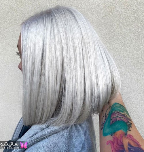 مدل موی مش و هایلایت