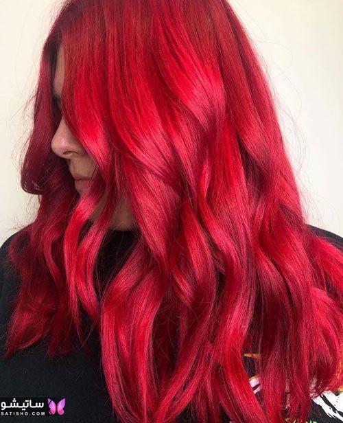 مدلهای مش و هایلایت مو قرمز