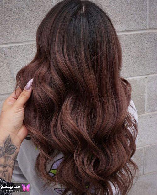 رنگ مو ترکیبی جدید
