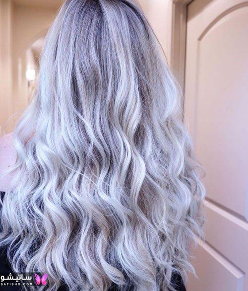 رنگ مو ترکیبی اماده