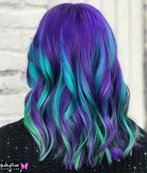 انواع رنگ موی پالت