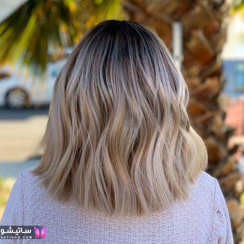انواع رنگ موی زیتونی