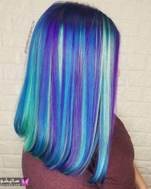 انواع رنگ موی روشن