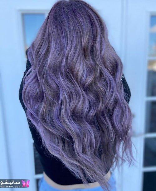 رنگ موی هایلایت دخترانه