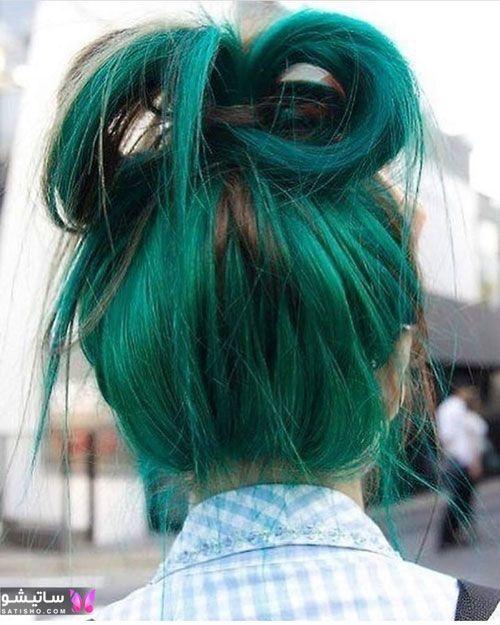 رنگ موی هایلایت جدید