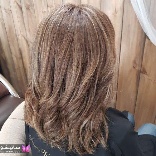 عکس مدل رنگ مو دو رنگ