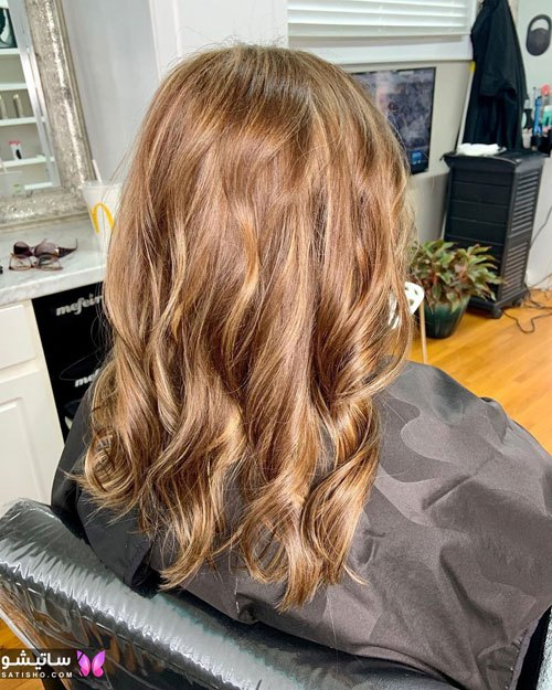 مدل رنگ مو روشن زنانه مناسب مو کوتاه