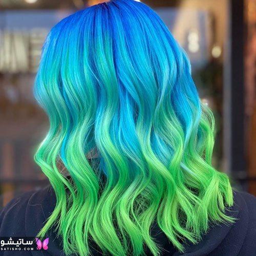 جدیدترین رنگ مو بدون دکلره