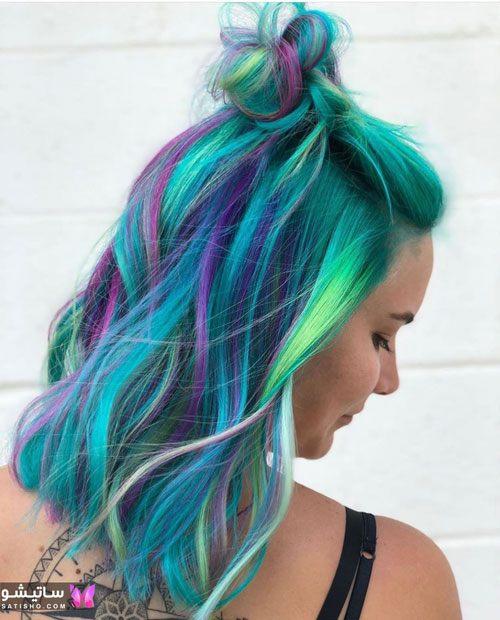 جدیدترین رنگ مو ۲۰۲۰