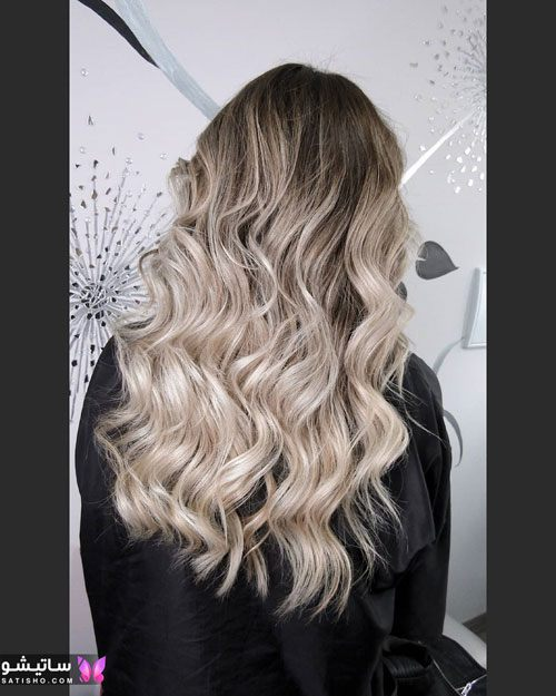 عکس از مدل رنگ مو استخوانی