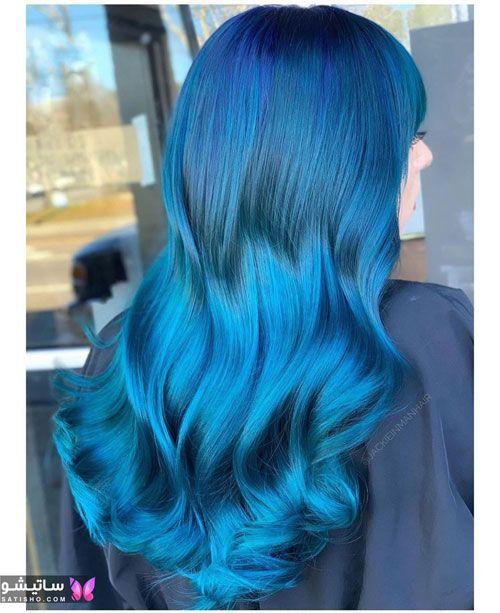 مدل رنگ مو دخترانه در اینستاگرام