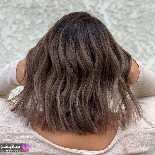 مدلهای رنگ مو بدون دکلره