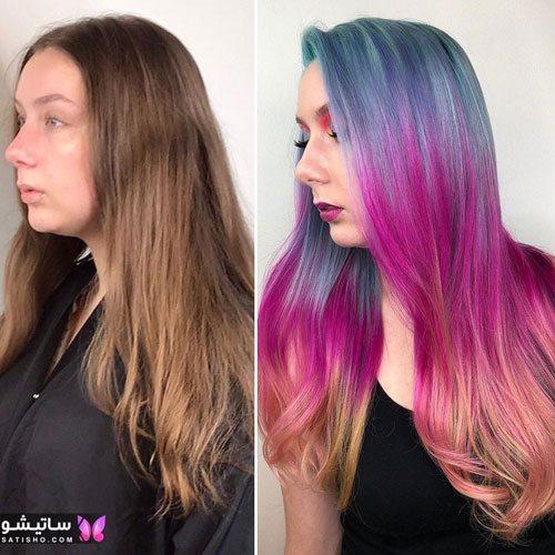 مدلهای رنگ مو جدید