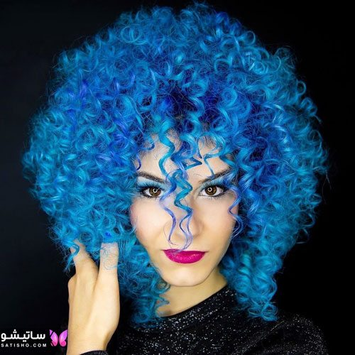 مدل رنگ مو دخترانه شیک