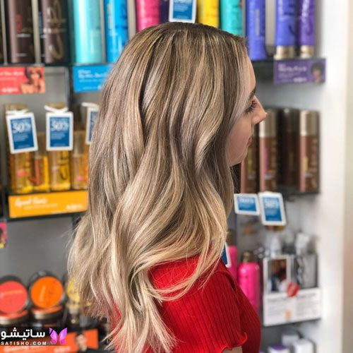 مدلهای رنگ مو هایلایت