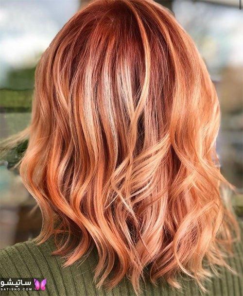 ترکیب و فرمول رنگ موی نسکافه ای