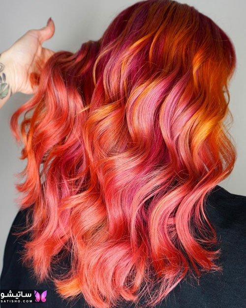 رنگ موی سامبره و مش دخترانه