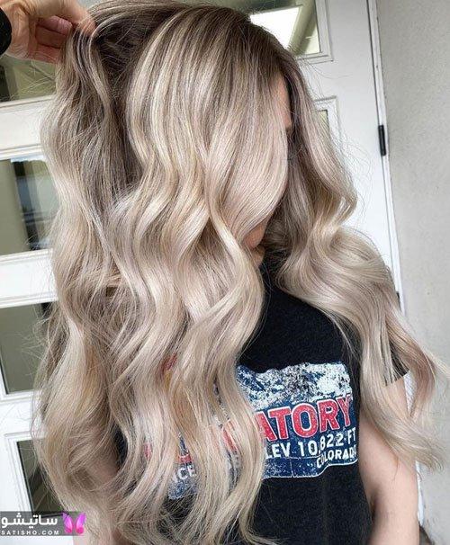 مدل رنگ موی عروس 2020