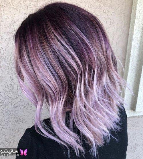 رنگ موی شیک جدید زنانه