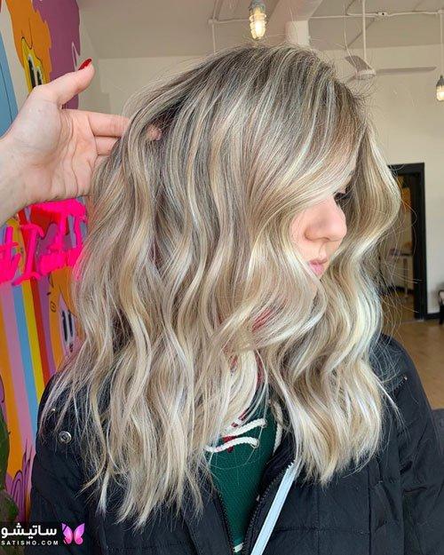 اینستاگرام مدل رنگ مو دخترانه