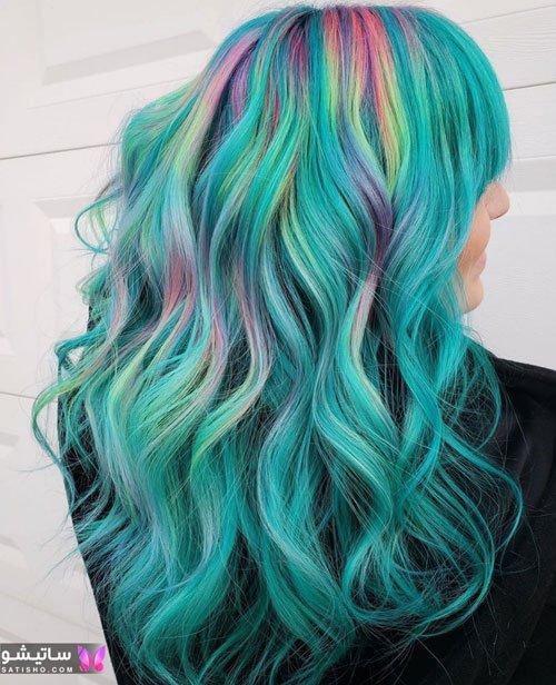 رنگ مو دخترانه شیک و لاکچری