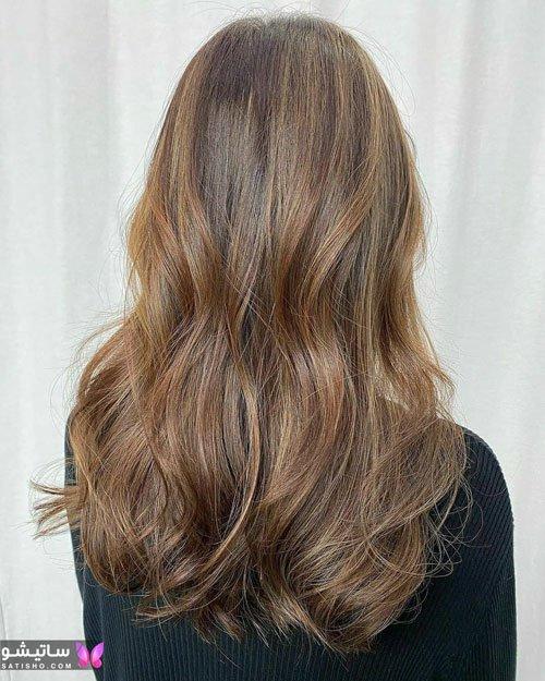 مدلهای رنگ موی هایلایت روشن