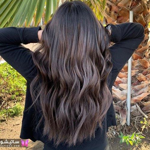 رنگ موی مش زنانه بسیار شیک