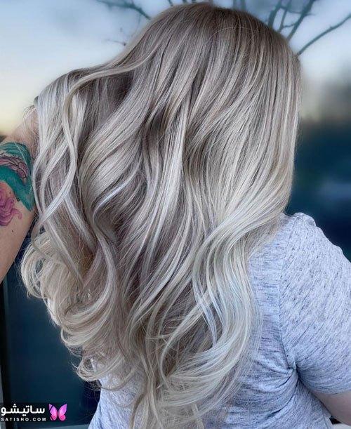 بهترین رنگ موی زنانه سال 99