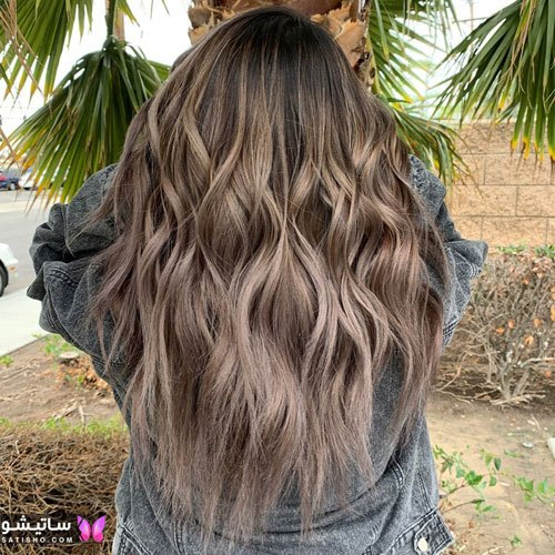 رنگ موی بلوند شیک و باکلاس