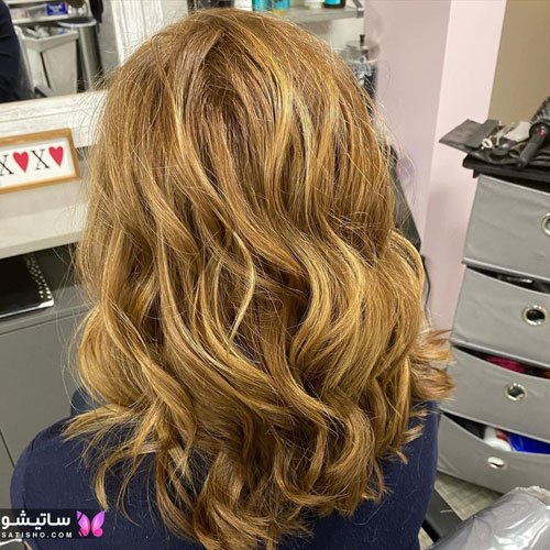 تصاویر انواع رنگ مو