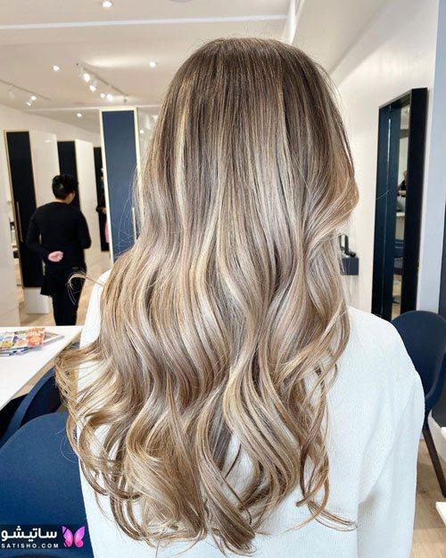 تصاویر مدلهای مختلف رنگ مو