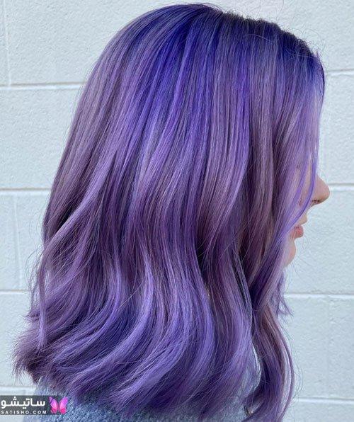 عکس انواع رنگ موی دخترانه