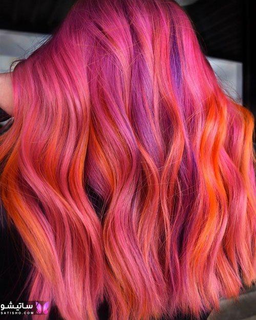 بهترین رنگ برای موی کوتاه