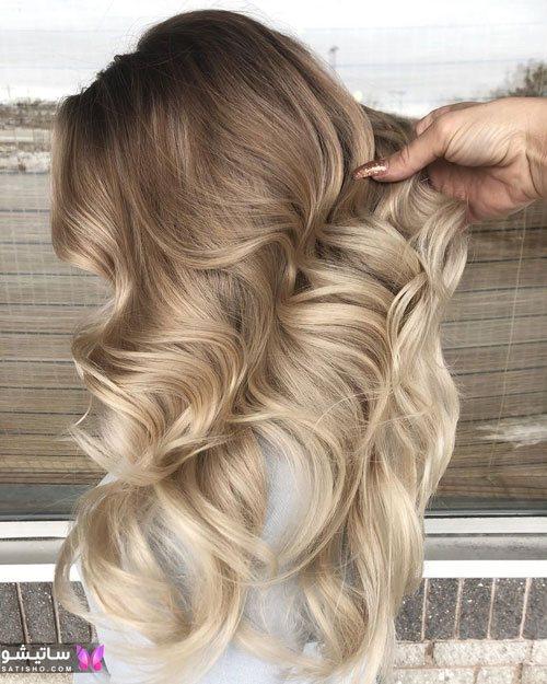 زیباترین رنگ موهای دخترانه