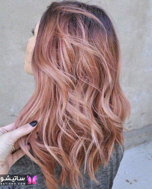 رنگهای هایلایت مو جدید