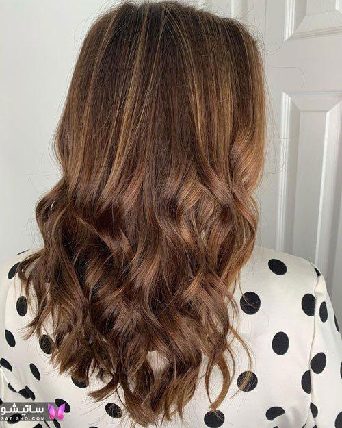 مدل رنگ مو های لایت